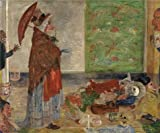 Oil Painting 'James Ensor - Astonishment Of The Mask Wouse,1889' Printing On High Quality Polyster Canvas , 18x22 Inch / 46x55 Cm ,the Best Game Room Decoration And Home Decor And Gifts Is This Amazing Art Decorative Prints On Canvas