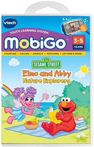VTech MobiGo Software - Elmo and Abbey; Nature Explorers - 1