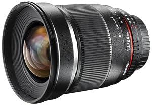 Walimex Pro Objectif 24 mm f/1,4 IF pour monture d'objectif Sony E-Mount