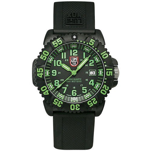 Luminox LU3067 Navy Seals 3050 Black/Green Dial Men's Watch