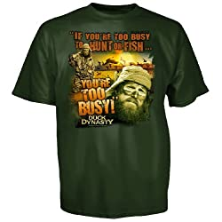 Duck Dynasty Jase Too Busy Youth T-Shirt