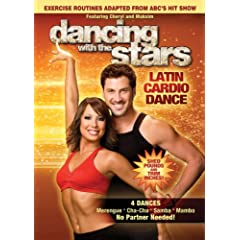 """ENTER TO WIN A COPY OF """"DANCING WITH THE STARS: LATIN CARDIO DANCE"""" from LIONS GATE 5"""