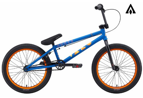 Amber Vaco Matte Blue BMX Bike