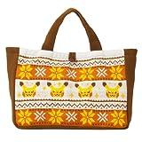 ポケモンセンターオリジナル トートバッグ Pikachu knit