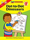 img - for Dot-to-Dot Dinosaurs, Grades PK - 1 (Home Workbooks) book / textbook / text book
