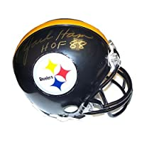 Jack Ham Signed Autograph Pittsburgh Steelers Mini Helmet Authentic Certified Coa