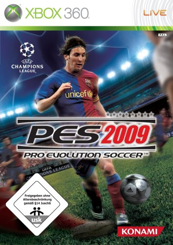 PES 2009 - Pro Evolution Soccer, Xbox 360