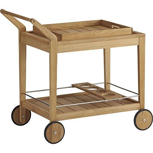 Crate And Barrel Regatta Bar Cart