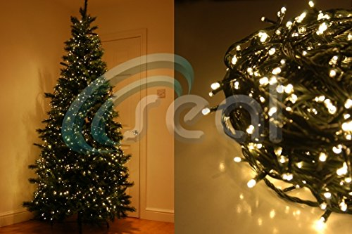 1000 LED Christmas Tree Fairy Lights Multi Function