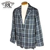 (ダブルアールエル) RRL Madras Check 2B Jacket [BLUE CHECK] マドラスチェックジャケット ブルー メンズ