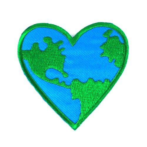 love-earth-heart-logo-iron-on-patches