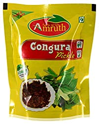 Amruth Gongura Pickle - 70 grams (Pack of 10)