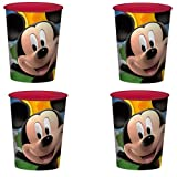 Disney Mickey Mouse Clubhouse Playtime Party Plastic Cups - 4 Pieces