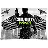 Call of Duty MW3 20X30 Two Sides Custom Cotton & Polyester Pillow Case Cover Cushion Cover Model: CHH-0436 (Build-to-Order)