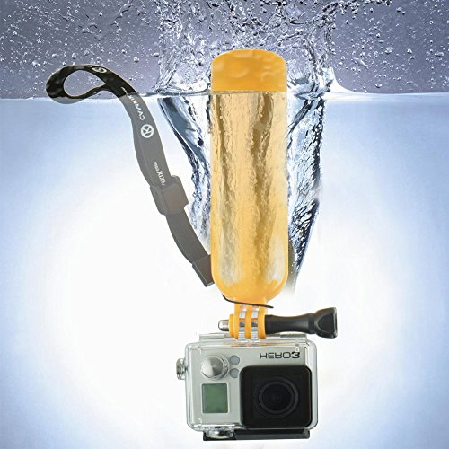 Smiledrive UNDERWATER FLOATING BOBBER HANDLE FOR ACTION CAMERAS MUST HAVE GOPRO HERO CAMERA ACCESSORY