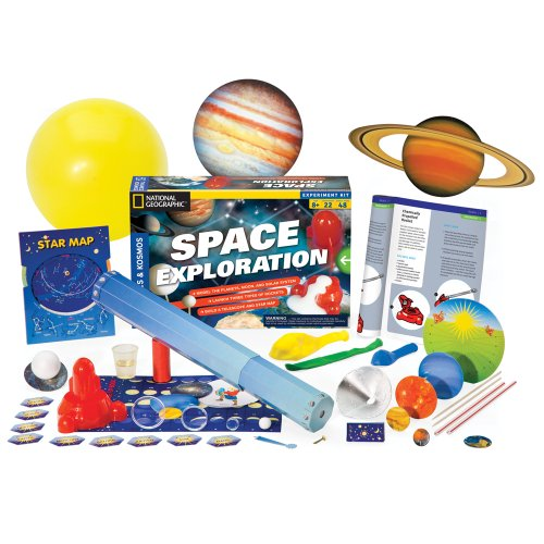 Space Exploration: The Planets, Moon, Stars, Solar System, & Rockets Kit