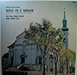 Mass in E Minor : Recorded Live in St. Agnes Church, St. Paul, Minnesota