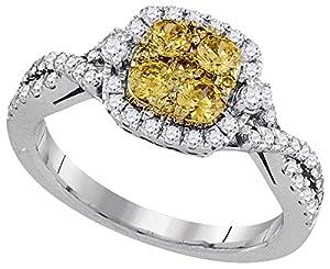1 Carat Total Weight Diamond Wedding Ring