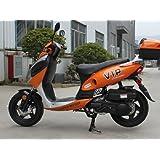 TaoTao POWERMAX-150 Gas Street Legal Scooter - Orange