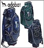 【2015年数量限定モデル】adabat【アダバット】メンズゴルフ キャディバッグ ABC289 即納,ブラック