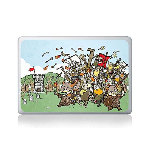 Viking Conquest Vinyl Sticker by Matthew Britton for Macbook (13/15), Laptop, Guitar, Car or Window