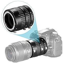 Neewer 12mm 20mm 36mm AF Auto Focus ABS Extension Tubes Set for Nikon DSLR Cameras Such as D7200 D7100 D7000 D5300 D5200 D5100 D5000 D3300 D3200 D3000 D40 D40x D100 D200 D300 D3 D3S D700 D90