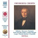 Chopin: Ballades / Fantaisie In F Minor / Galop Marquis