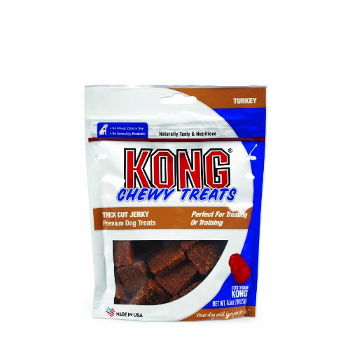 Kong Premium Treats Thick Cut Jerky, Turkey
