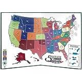 Littleton 50 State Quarter Display Map Folder