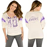 Touch by Alyssa Milano Los Angeles Lakers Womens Jersey TShirt at Amazon.com