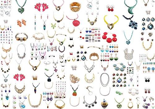 Ladinelle-Adventskalender-inkl-Geschenkverpackung-Damen-Schmuck-Halsketten-Armband-Ring-Ohrstecker-Ohrringe