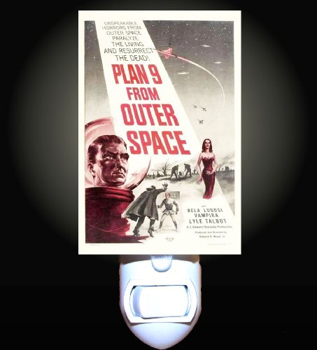 Plan 9 From Outer Space Decorative Night Light front-936965
