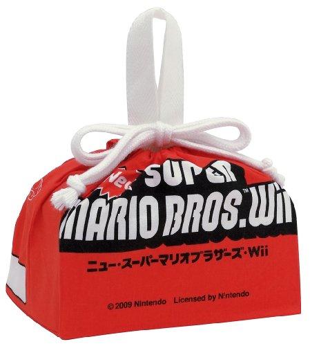 ニュー・スーパーマリオブラザーズ・Wii ランチ巾着 KB7