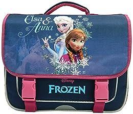 Frozen La reine des neiges Cartable Bleu Marine Disney