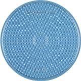 Hama Stiftplatte Kreis rund, groß, transparent 221TR - für midi Bügelperlen von Hama
