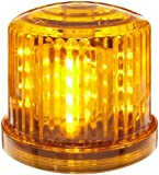 "Fortune Products Battery Powered Ultra Bright LED Standard Police Beacon, 5"" Diameter x 5"" Height"