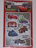 Disney Pixar Cars : pop-up stickers reusable