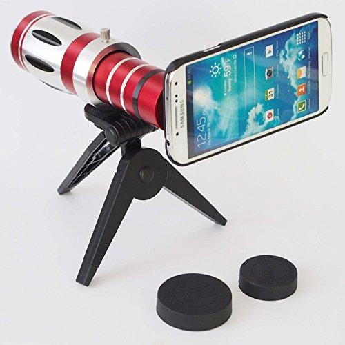 Giftsbox 20X Telescope Camera Lens Aluminum Mobile Phone Telephoto Lens For Samsung S4 I9500