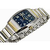 Xezo for Unite4:good Incognito Gold Pl Large Automatic Watch. Swiss Sapphire, Crown with Garnet