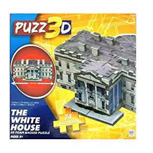 Puzz 3d The White House 74 Piece Puzzle Toys