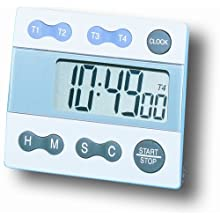 General Tools TI388 Digital 4-Channel Timer and Clock