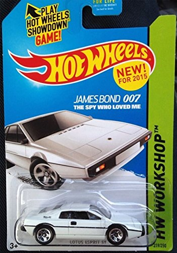 James Bond 007 the spy who loved me Hot wheels new for 2015 Lotus Esprit S1 hw workshop 219/250