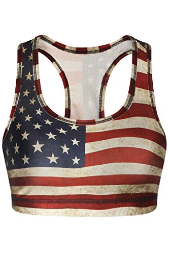 american flag tank top womens