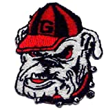 NCAA Georgia Bulldogs Embroidered Stick On Patch at Amazon.com