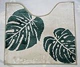 ハワイアン雑貨/Green Hawaii マイクロファイバー トイレマット モンステラ 【ハワイ雑貨】【お土産】