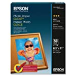 Epson Glossy Photo Paper, 8.5 x 11 In...