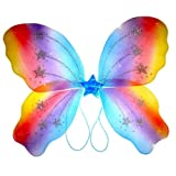 Halloween / Fancy dress Rainbow fairy wings , brand new , perfect for birthday party's , gifts , presents , hen party , Halloween, ladies , girls , fancy dress Birthday or Christmas gift. Perfect stocking fillers , gift ideas