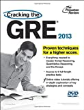 Cracking the GRE with DVD, 2013 Edition (Graduate School Test Preparation) (0307944727) by Princeton Review