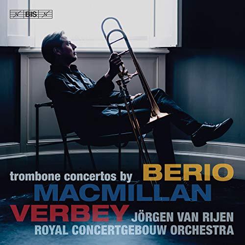 SACD : BERIO / RIJEN / SPANJAARD - Trombone Concertos