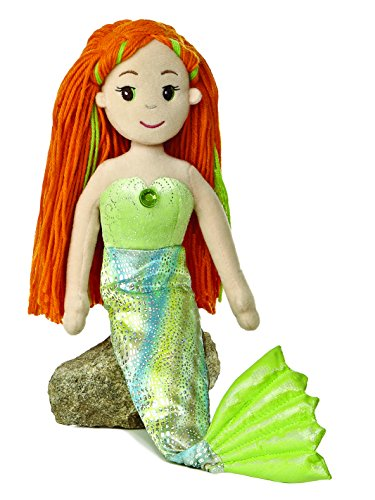"Aurora World Meriel Mermaid 18"" Plush"